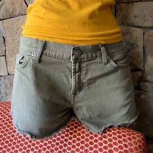 Hudson Kenzie Cut Off jean shorts